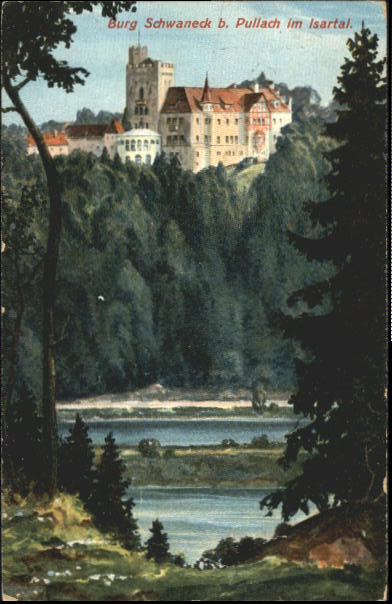 Pullach_Burg_Schwaneck_1916